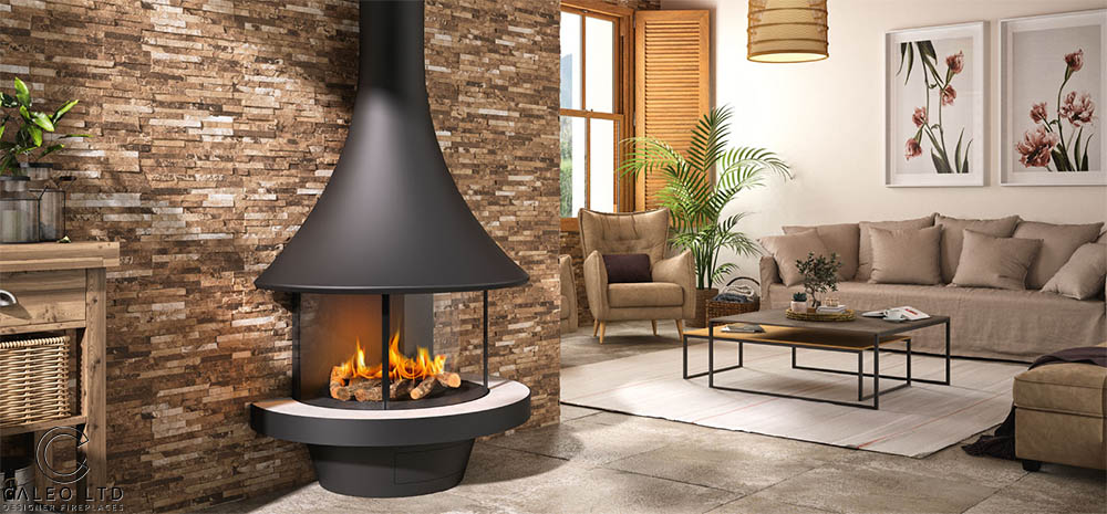 Caleo Designer Floating Fireplaces History of J C Bordelet EVA 992 Gas The Fire Pleasure